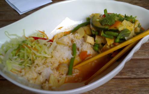 vietnamesisches-essen-mit-tofu © lele
