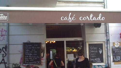 cafe cortado © friedrichshainblog.de