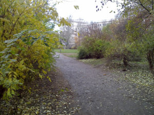 wie heißt der grüne platz hinter dem weidenweg © friedrichshainblog.de
