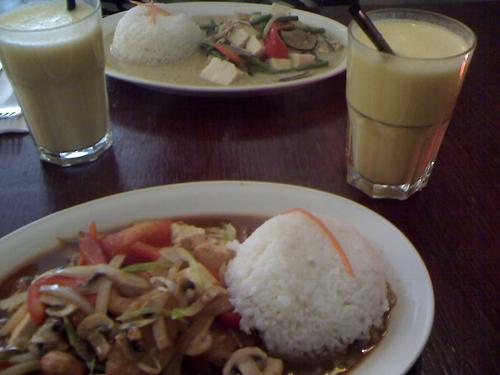 thailändisches essen im lemongrass © friedrichshainblog.de