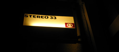 stereo 33 musik bar leuchtschild © friedrichshainblog.de