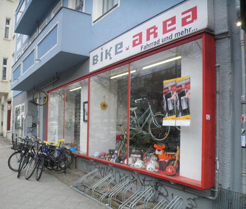 Fahrradladen Bike Area © friedrichshainblog.de