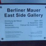 east side gallery schild © friedrichshainblog.de