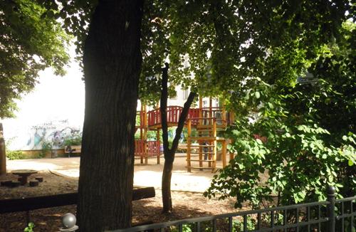 kinderspielplatz travekiez kinderspielplatz jungstraße oderstraße © friedrichshainblog.de