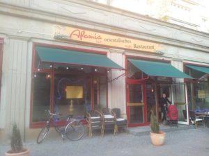 afamia orientalisches restaurant berlin friedrichshain