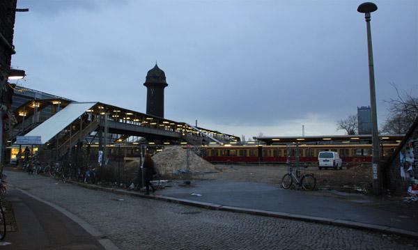 ostkreuz s bahnhof baustelle