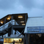 treppenkonstruktion beim s-bahnhof ostkreuz