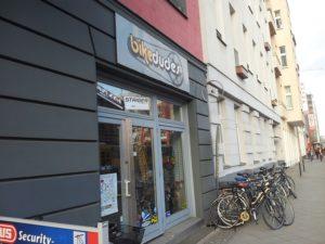 bikedudes fahrrad laden landsberger allee