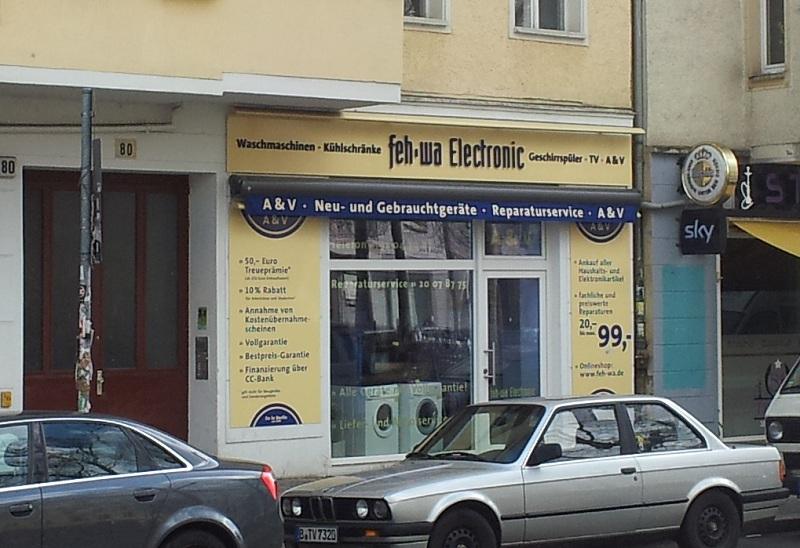 Gebrauchte Waschmaschinen Berlin Friedrichshain | Feh-wa Warschauer ...
