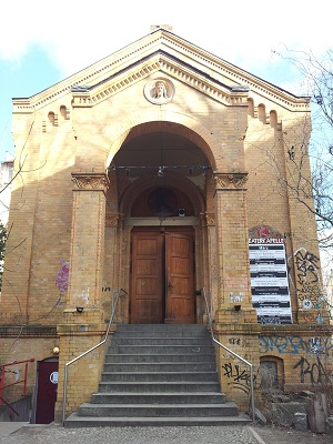 theaterkapelle berlin friedrichshain treppe