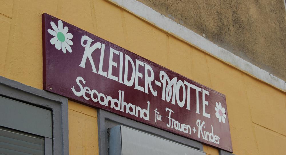 kleider motte second hand shop