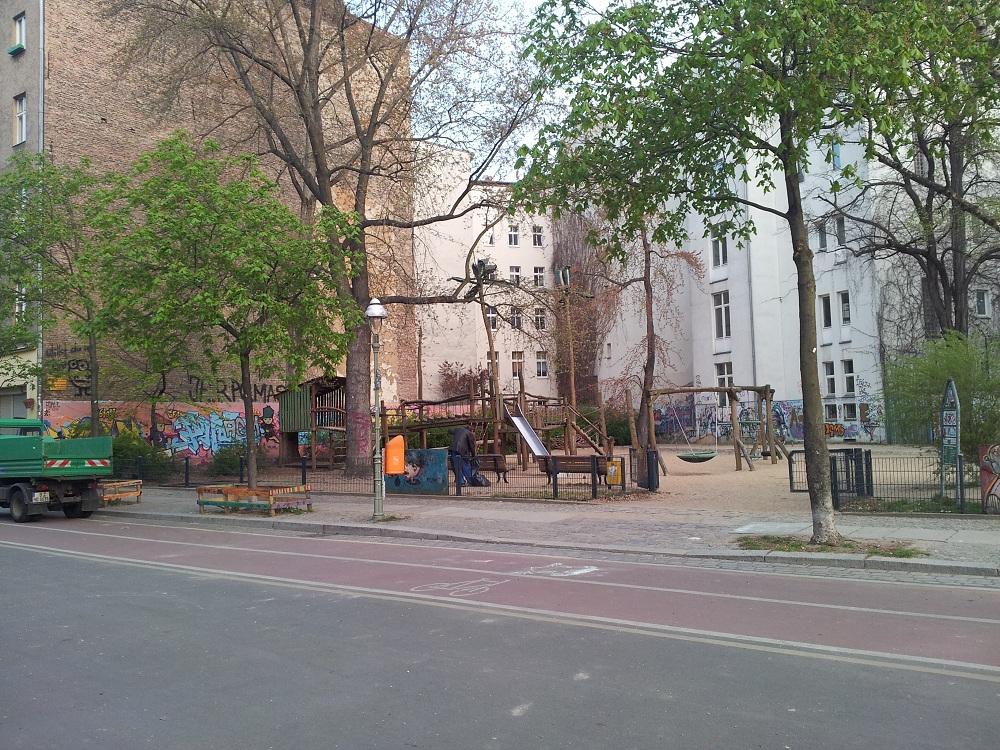Spielstraße und Spielplatz Naunynstraße