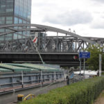 Brücke nach Treptow von Caroline-Tübbecke-Ufer