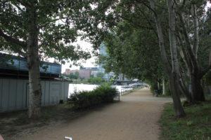 Caroline-Tübbecke-Ufer Weg