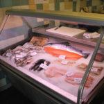 Fischauslage Fischschuppen Berlin Friedrichshain