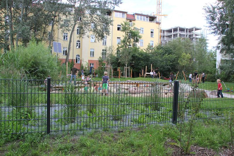 Kinderspielplatz straulauer halbinsel