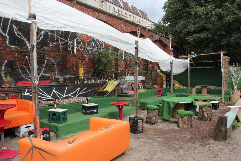 Biergarten Hektik Food Berlin Friedrichshain