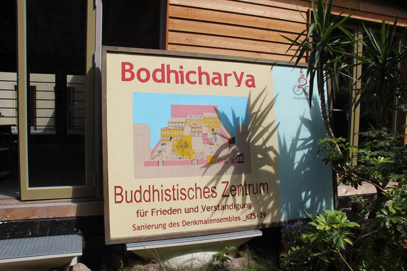 Bodhicharya Buddhismus Tempel in Berlin Friedrichshain