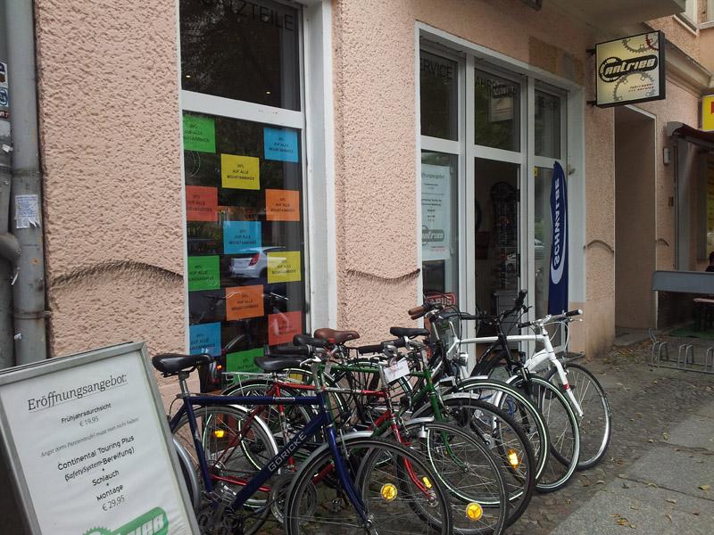 Antrieb Fahrradladen Berlin Friedrichshain