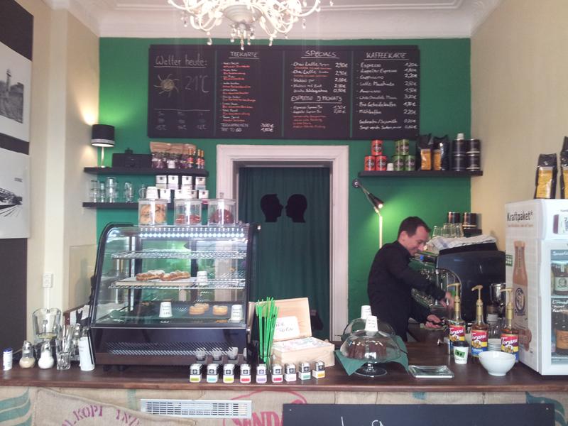 Cafe sellberg Berlin Friedrichshain Theke