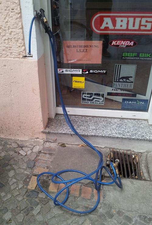 Druckluft Service Antrieb Fahrradladen