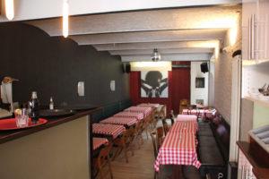 Gastraum Pizzeria Rocco und seine Brüder Kreuzberg