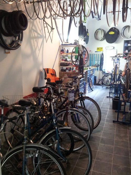 Werkstatt Antrieb Fahrradladen Berlin Friedrichshain