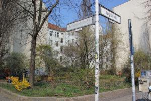 Grüne Ecke Berlin Friedrichshain