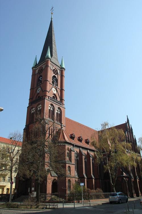 Samariterkirche Berlin Friedrichshain