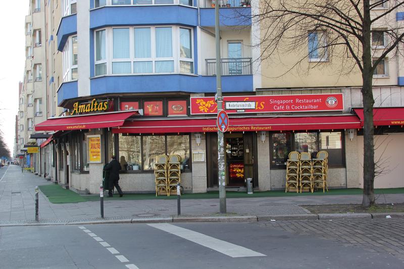 Amaltas Restaurant Berlin Friedrichshain