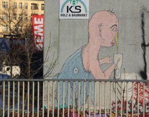 Graffiti Berlin Friedrichshain