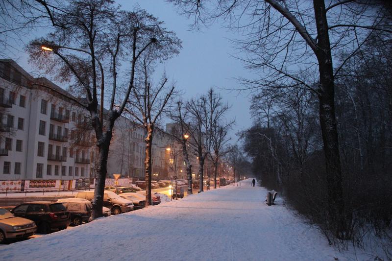 Friedensstraße am Volkspark Friedrichshain