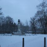 Friedrich-Statue Volkspark Friedrichshain