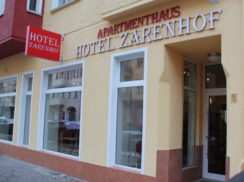hotel zarenhof in friedrichshain. Black Bedroom Furniture Sets. Home Design Ideas