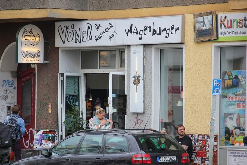 Vöner Burger Berlin Friedrichshain