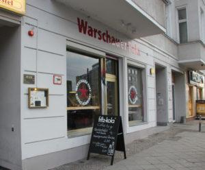 Warschauer Pakt Kaffe Kombinat Friedrichshain