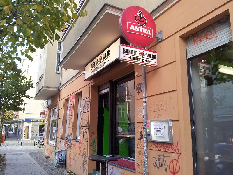 Burger Wehr Berlin Friedrichshain