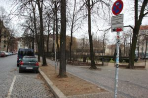 Car Sharing Parkplatz Friedrichshain