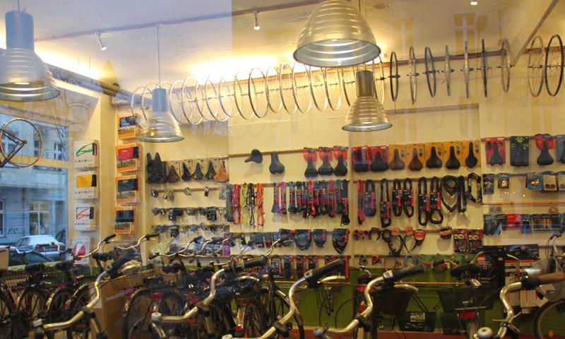 Fahrradladen sortiment