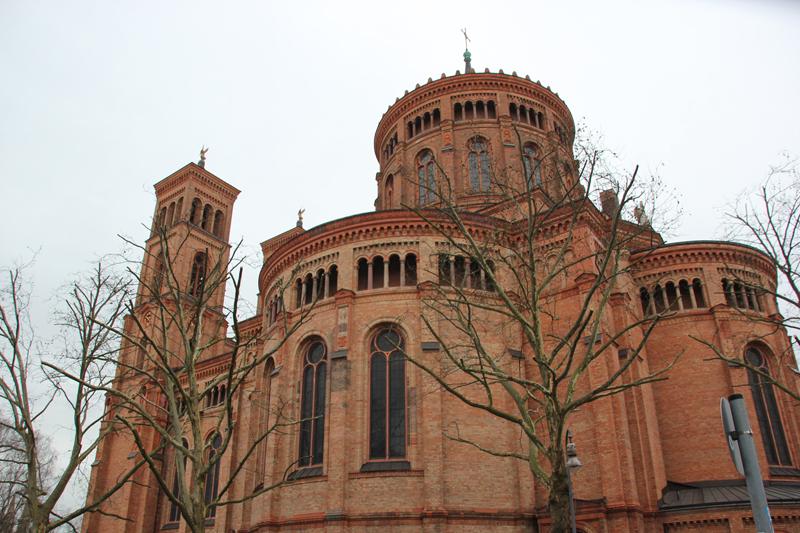 St Thomas Kirche Mariannenplatz