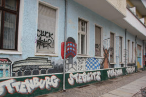 Streetart Graffiti Berlin Bezirke