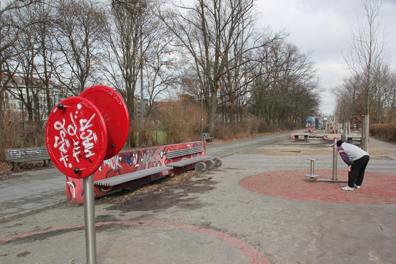 10 Fitnessgeräte Kanal Kreuzberg