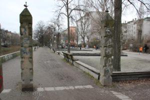 18 Bouleplatz Landwehrkanal Kreuzberg