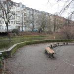 Sitzbänke Landwehrkanal