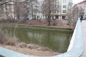Hobrechtbrücke Landwehrkanal
