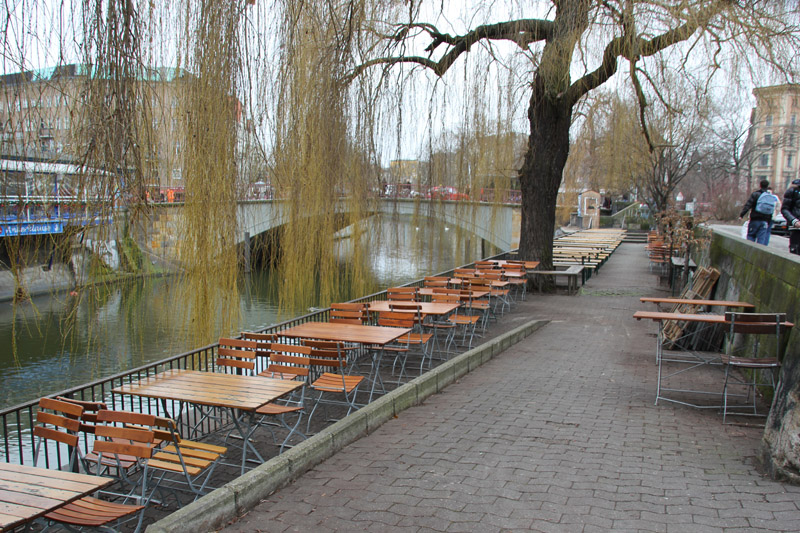 Spree Terrasse Paul-Linke-Ufer