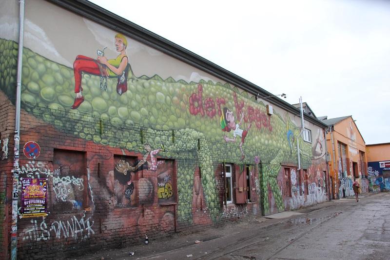 Der Kegel Kletterpark Berlin Friedrichshain