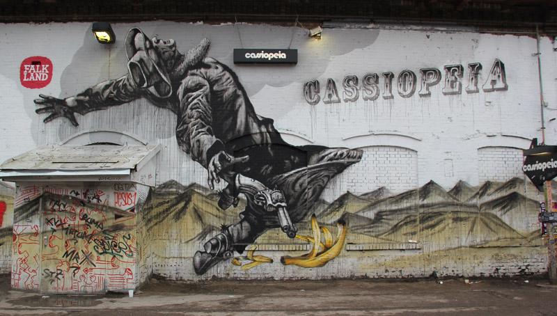 Cassiopeia Graffiti RAW Gelände