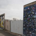 East Side Gallery Baustelleneinfahrt