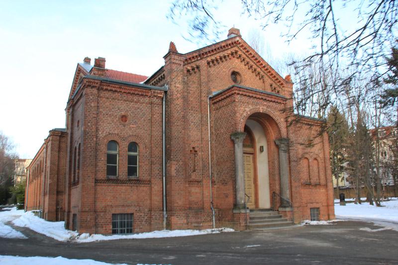 Gebäude Friedhof Friedrichshain